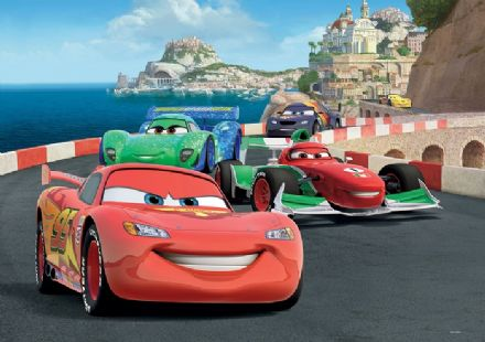 L Lightning Mcqueen & Francesco Disney cars wall mural